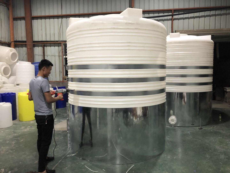 圆柱形塑料水箱补漏